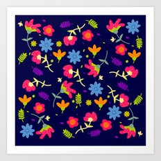 Spring Colours Art Print