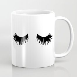 Eyelash Print Coffee Mug