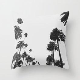Palm Spring California, Palms Throw Pillow