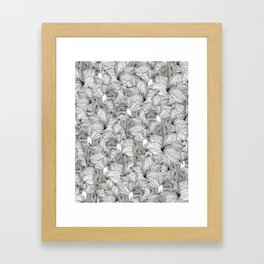 BIRDS NEST Framed Art Print