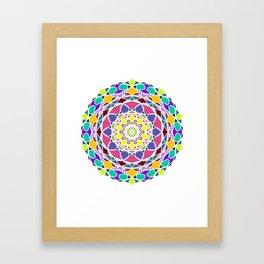 Universum Style Mandala Framed Art Print