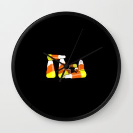 Candy Corn Henge Wall Clock