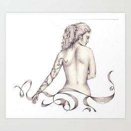 Essence of Ink  Art Print