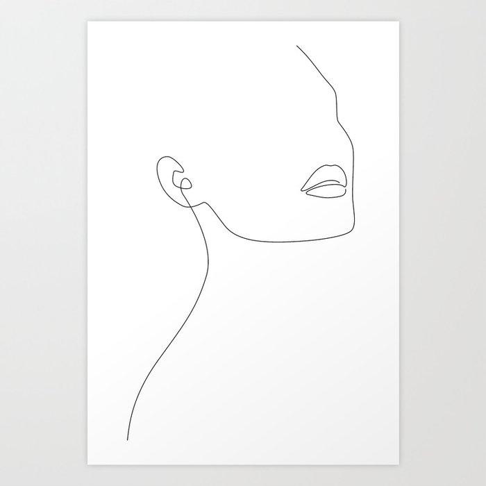 Simple Minimalist Art Print