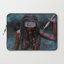Michonne And Her Sword - The Walking Dead Laptop Sleeve