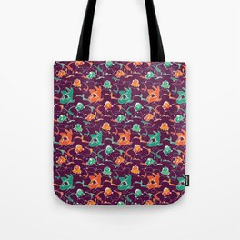 Violet Back Tote Bag