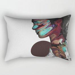 Map of Your Head Rectangular Pillow