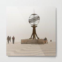 Sphere world Belem Lisbon Metal Print