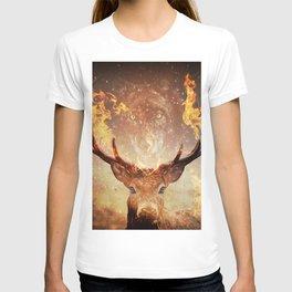 Internal flame T-shirt