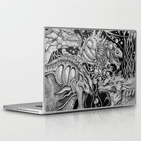 dragons Laptop & iPad Skins featuring Dragons by Walid Aziz