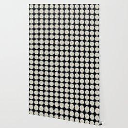 Daisy Abstract Repeat Dot Pattern  Wallpaper
