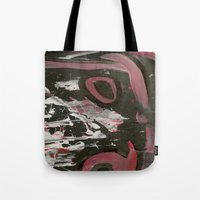 heavy metal Tote Bags featuring Heavy Metal Music by Corbin Henry