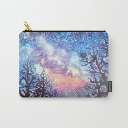 Galaxy Spring Night by CheyAnne Sexton Carry-All Pouch