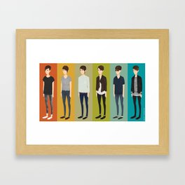 Tegan and Sara: Sara collection Framed Art Print