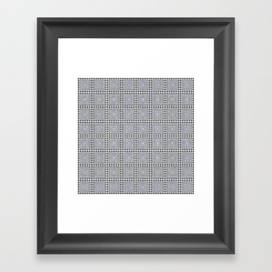 I_Like_Pattern n°4 Framed Art Print