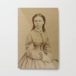Olive Oatman, 1863 Metal Print