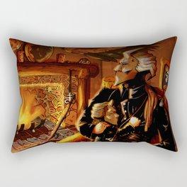 tell tale, heart sail Rectangular Pillow