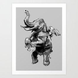 Fly Heavy Art Print