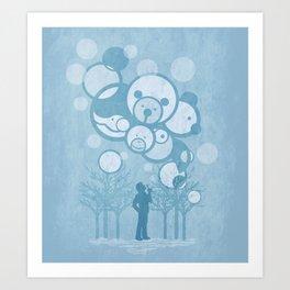 Don't Burst the Bubble Art Print