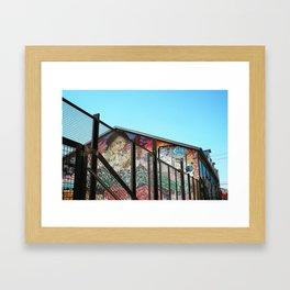 Streets of LA Framed Art Print