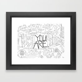 You Are Framed Art Print