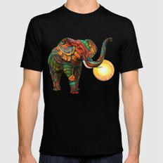 Elephant's Dream LARGE Black Mens Fitted Tee