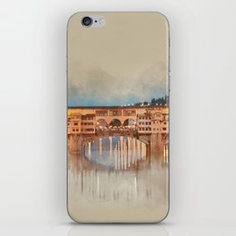 Firenze, Ponte Vecchio iPhone Skin