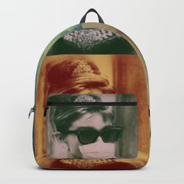 Audrey Wears a Mask Backpack