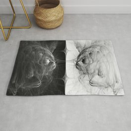 Reflection In Duplicity Rug