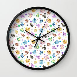 Cuties In The Stars Wall Clock