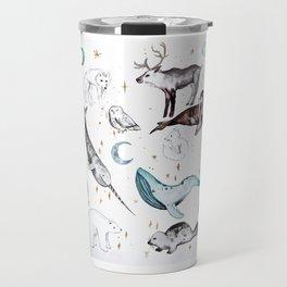 Arctic Animal Magic Travel Mug