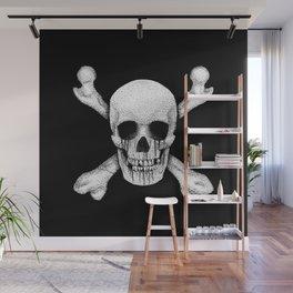 Jolly Roger Pirate Skull Flag Wall Mural