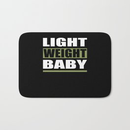 Light Weight Baby Fitness Motivation Bath Mat