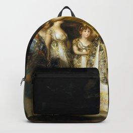 "Francisco Goya ""Charles IV of Spain and His Family (La familia de Carlos IV)"" Backpack"