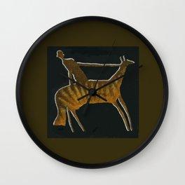 Abstract Safari - Wanderer I Wall Clock