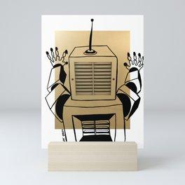 ¡Ay!, robot. Mini Art Print
