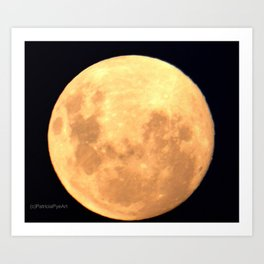 May 2015 - moonscape Art Print