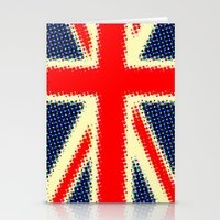 union jack Stationery Cards featuring Union Jack by deff