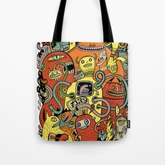 Warm in Tote Bag