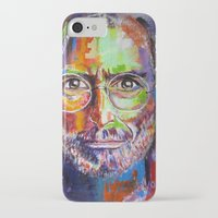 steve jobs iPhone & iPod Cases featuring steve jobs by yossikotler