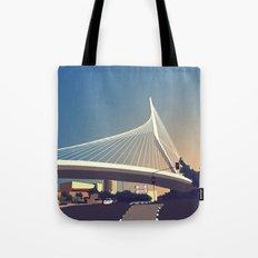 Calatrava Bridge Jerusalem Tote Bag
