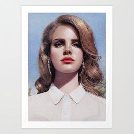 Lana - Born To Die Art Print