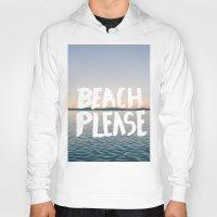 beach Hoodies featuring Beach by Trend