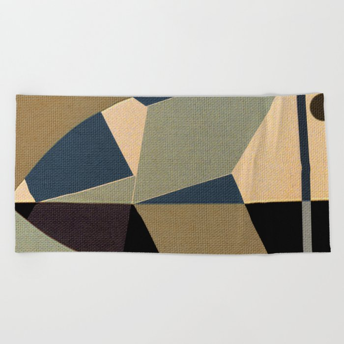Mosaic Beak Beach Towel