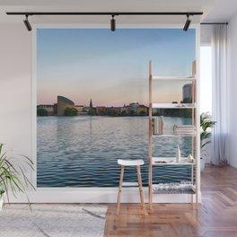 Clear & Blurry Lake Wall Mural