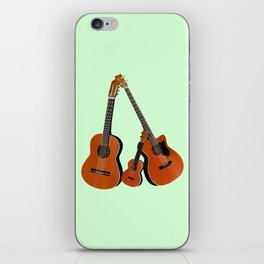 Acoustic instruments iPhone Skin