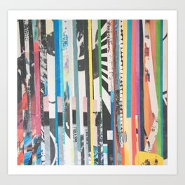 STRIPES 38 Art Print