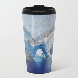 Iceberg city  Travel Mug