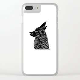 silent treatment Clear iPhone Case