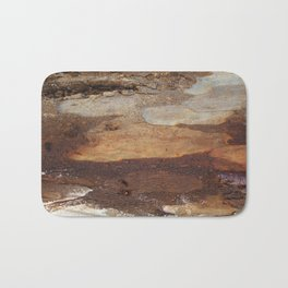 Shades of Tree bough Bath Mat